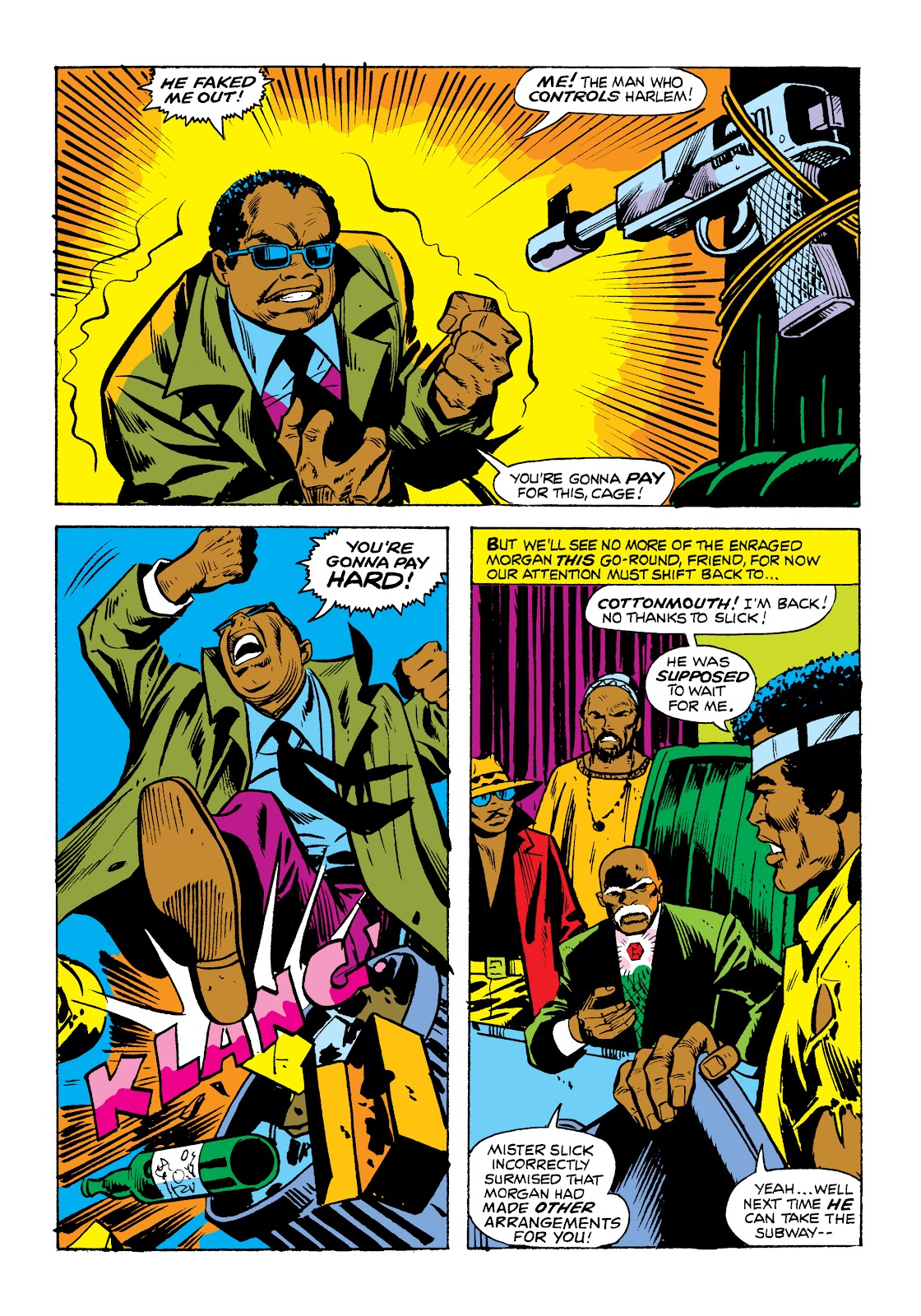 Read online Marvel Masterworks: Luke Cage, Power Man comic -  Issue # TPB 2 (Part 1) - 77
