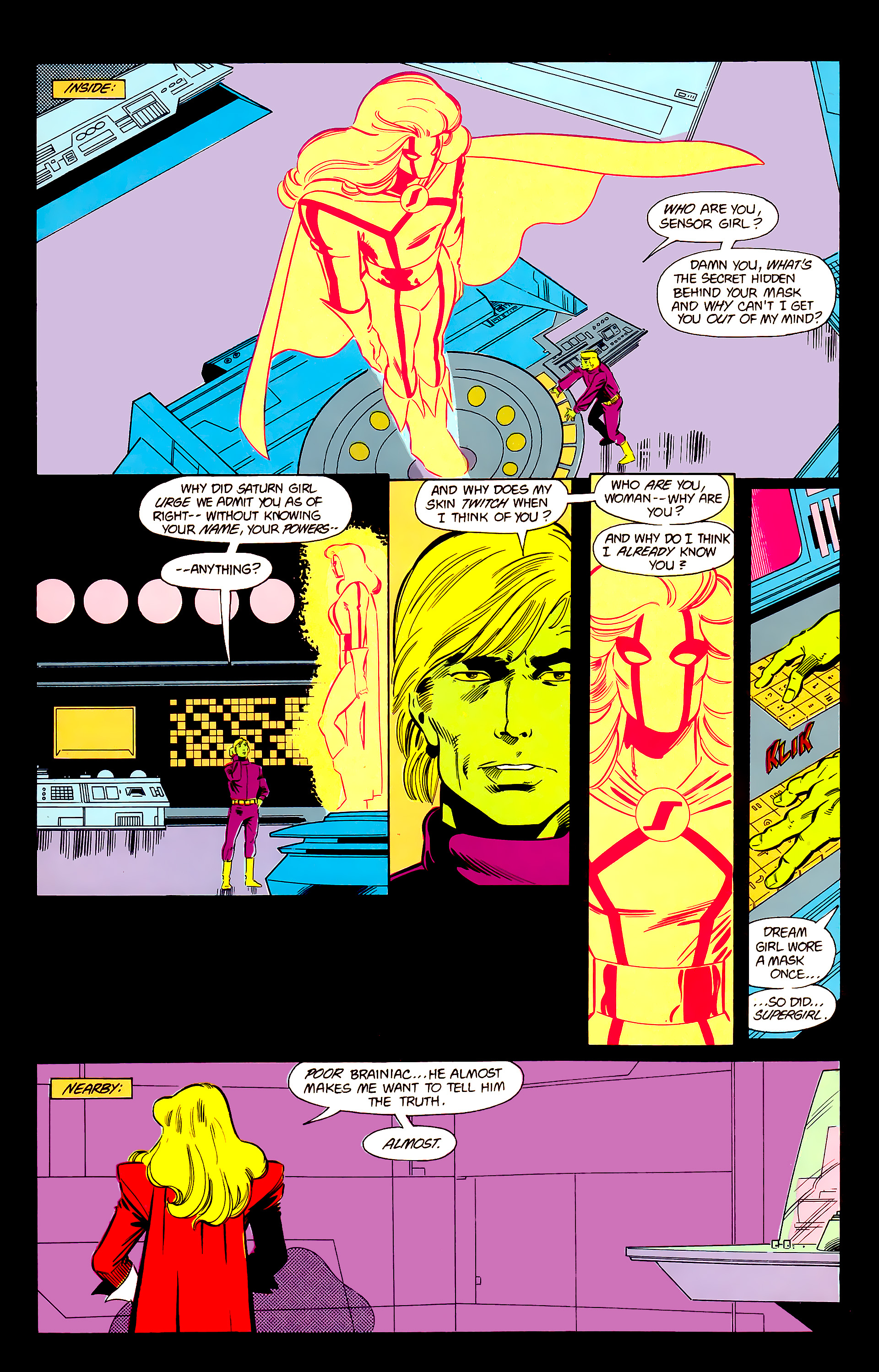 Legion of Super-Heroes (1984) 20 Page 13