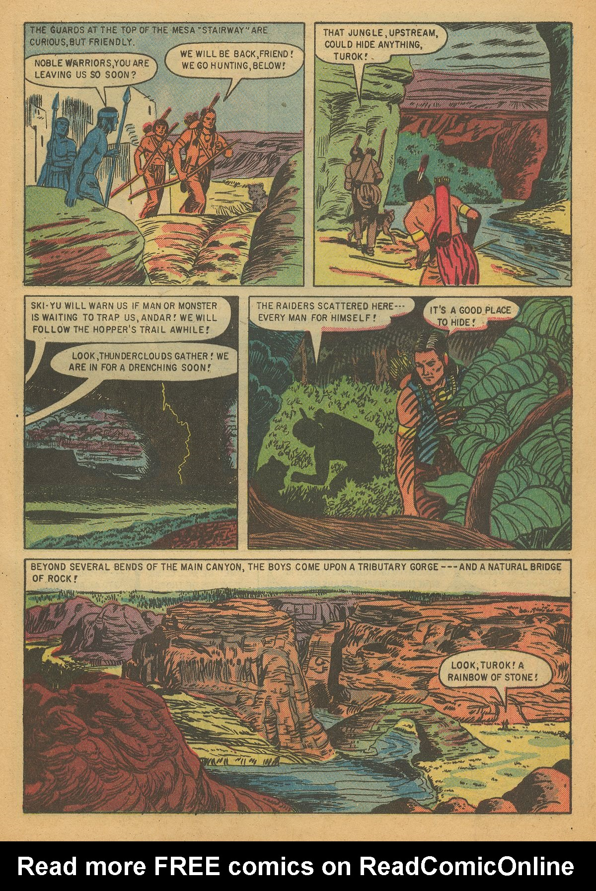 Read online Turok, Son of Stone comic -  Issue #7 - 29