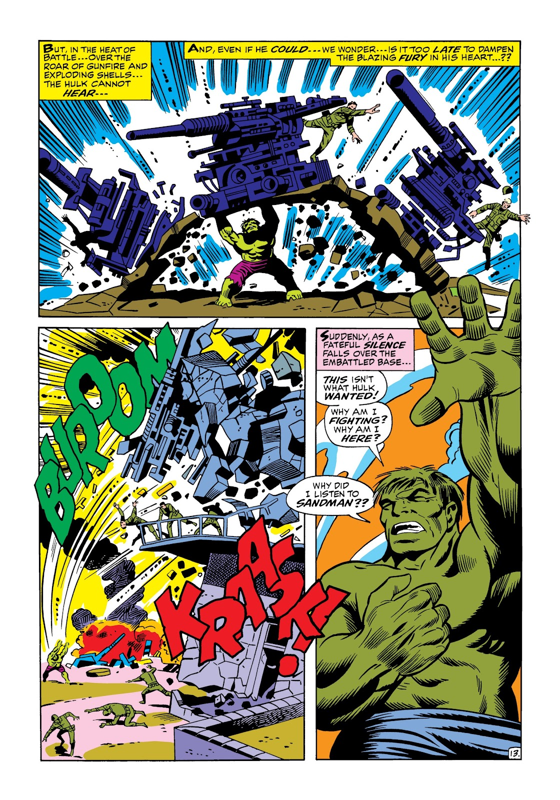 Read online Marvel Masterworks: The Incredible Hulk comic -  Issue # TPB 5 (Part 1) - 61