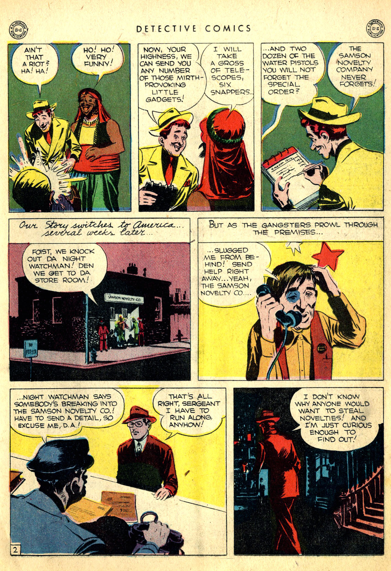 Read online Detective Comics (1937) comic -  Issue #91 - 27