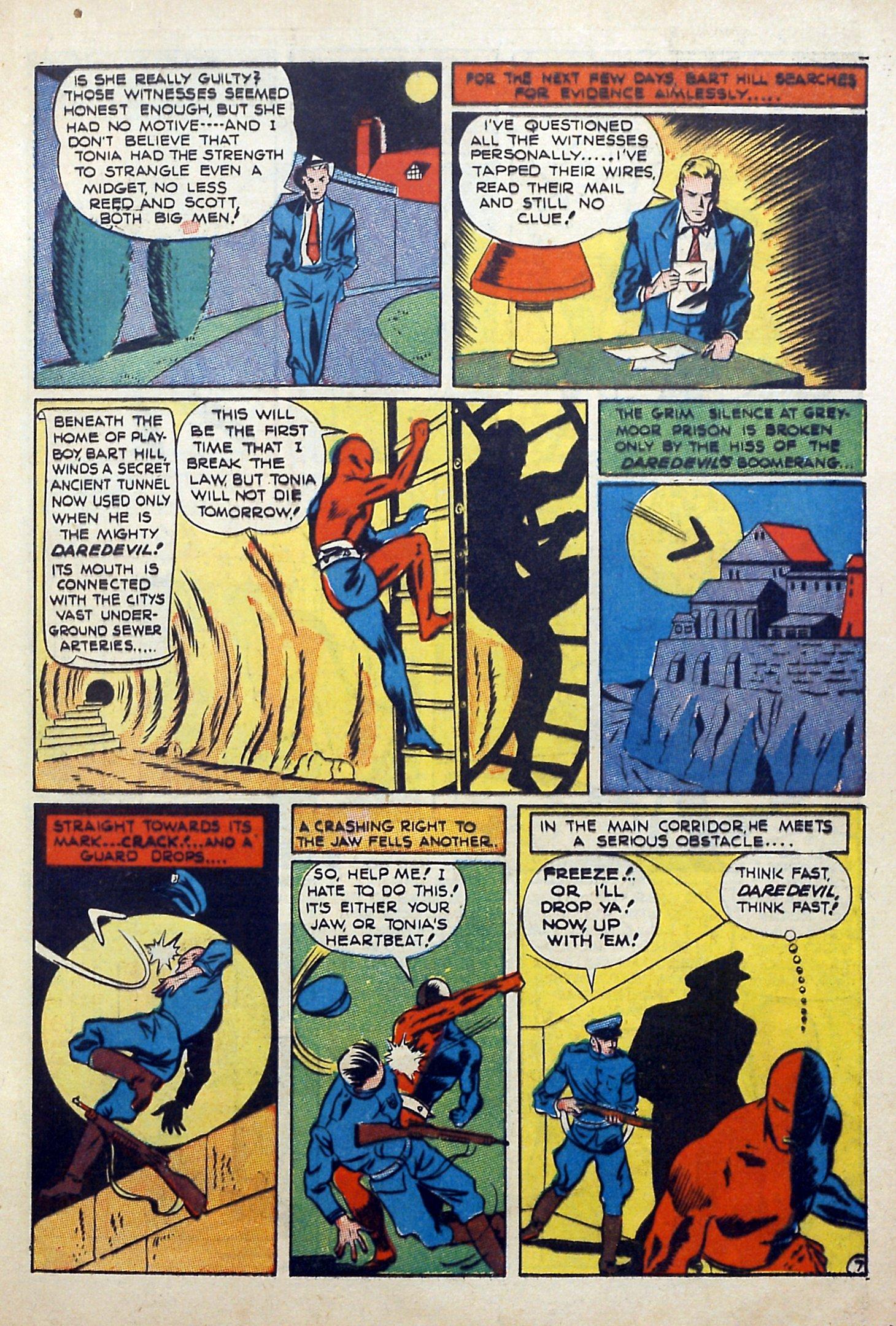 Daredevil (1941) issue 3 - Page 9