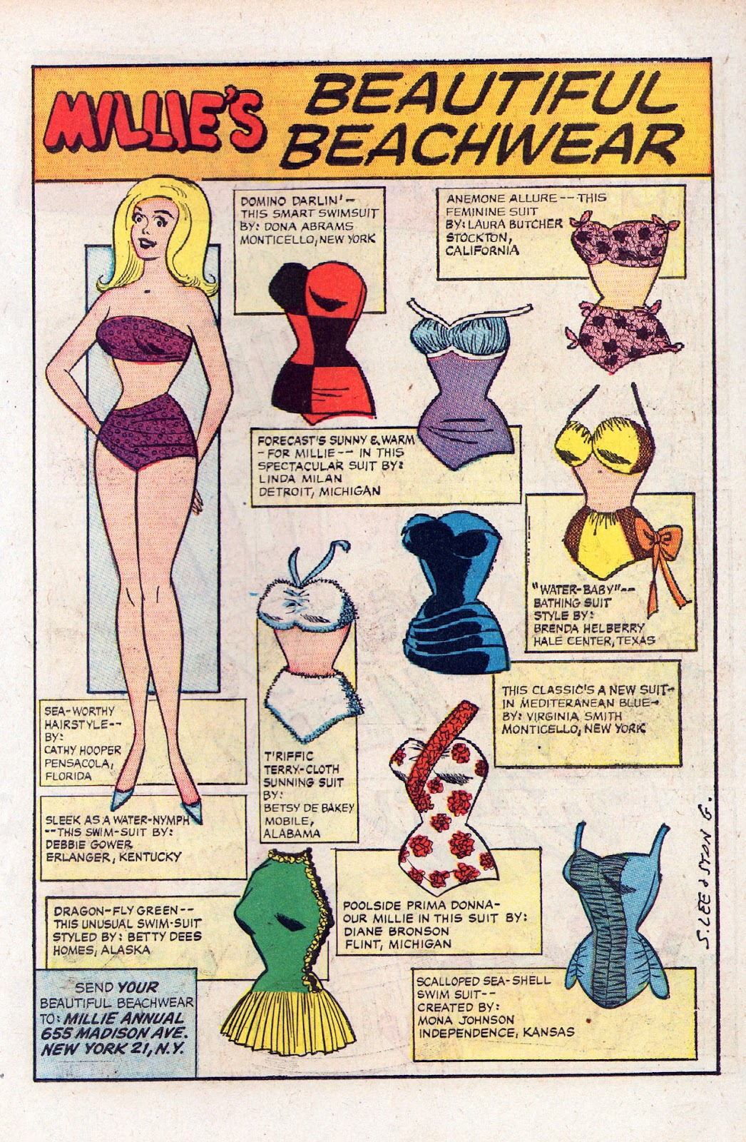 Read online Millie the Model comic -  Issue # Annual 2 - 39