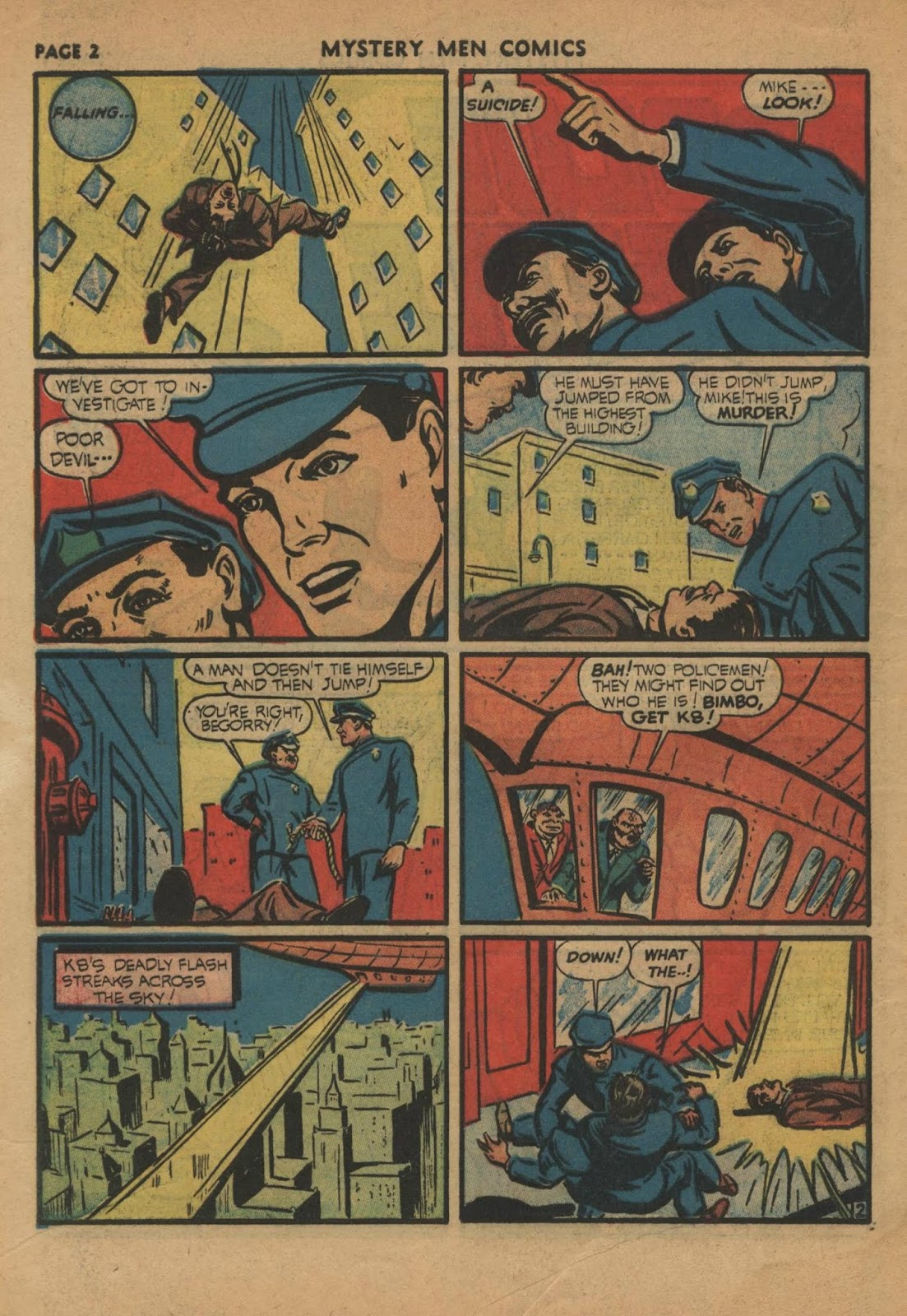 Mystery Men Comics issue 24 - Page 4