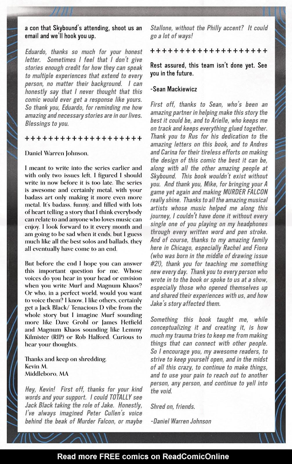 Read online Murder Falcon comic -  Issue #8 - 29