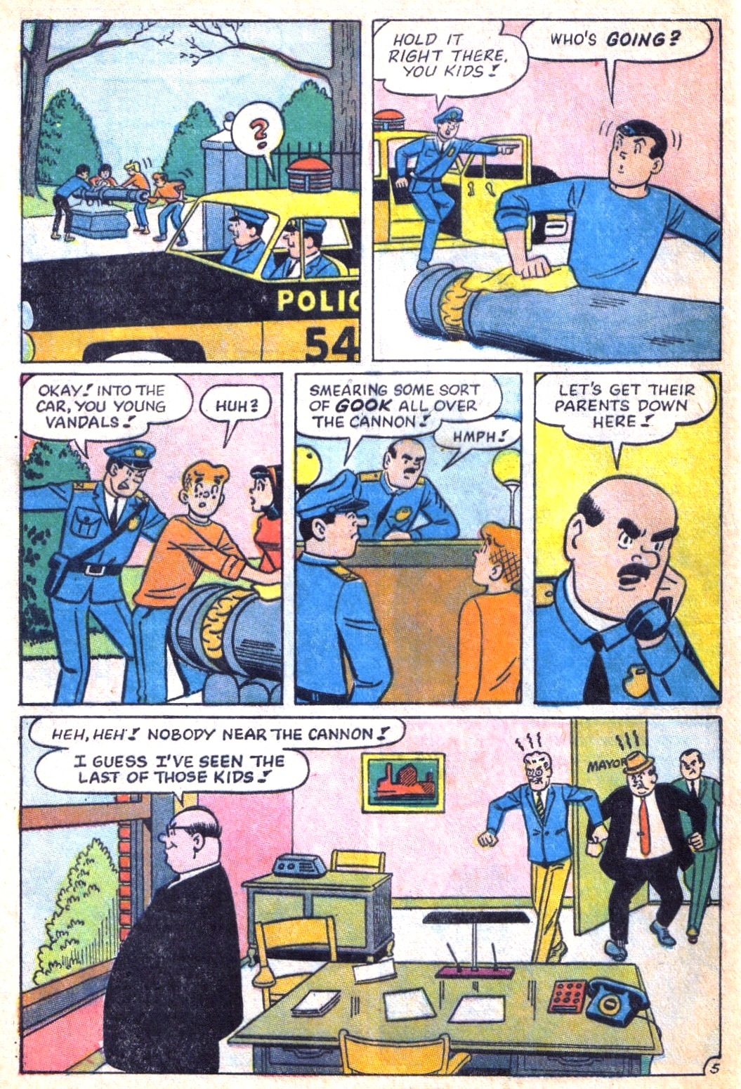 Read online Archie (1960) comic -  Issue #171 - 32