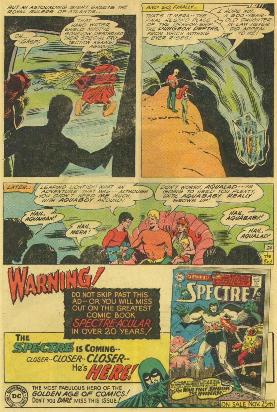 Read online Aquaman (1962) comic -  Issue #25 - 32