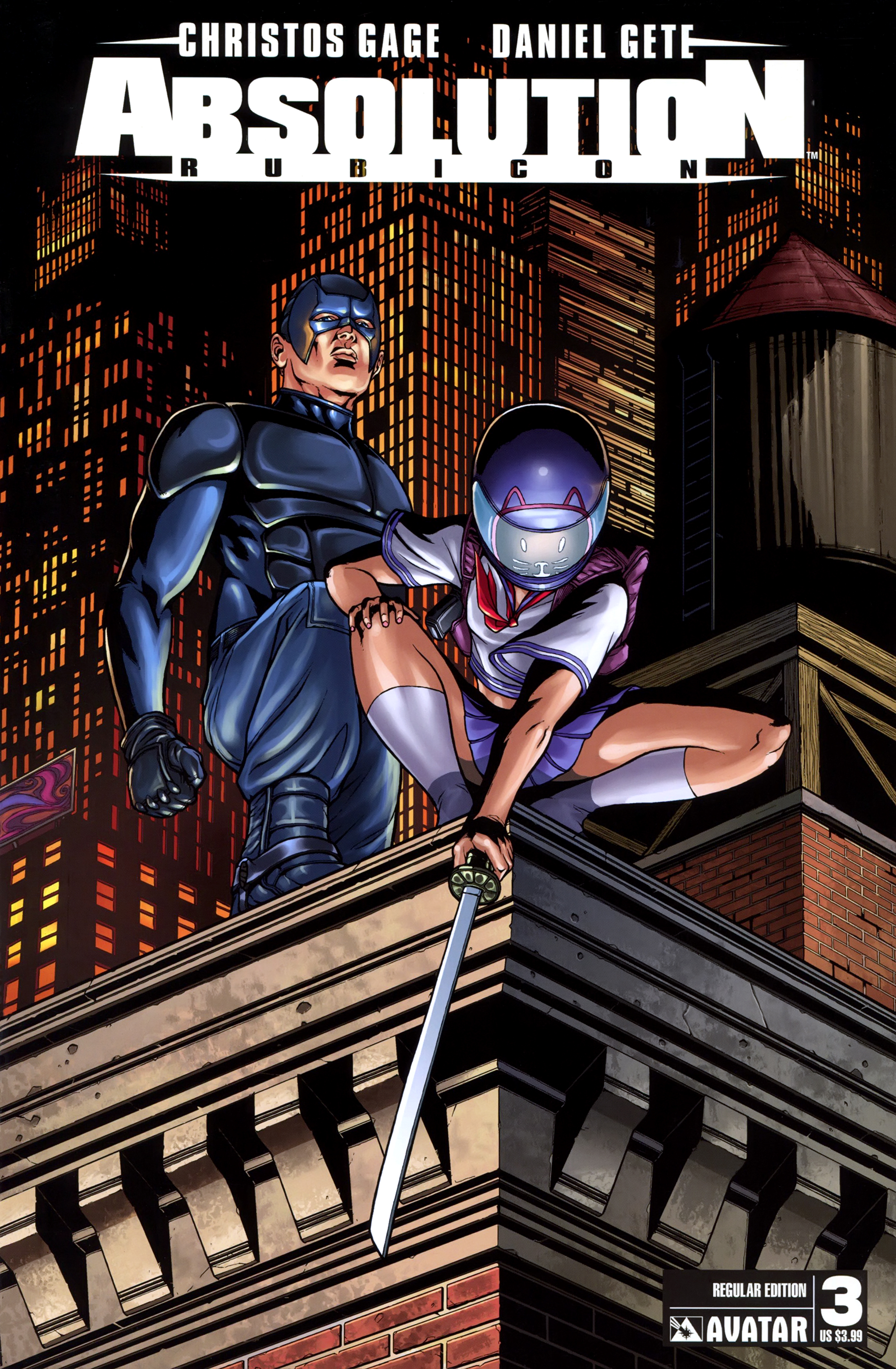 Read online Absolution: Rubicon comic -  Issue #3 - 1