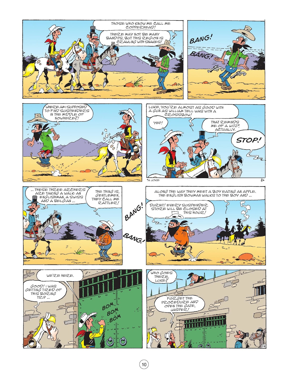 A Lucky Luke Adventure issue 72 - Page 12