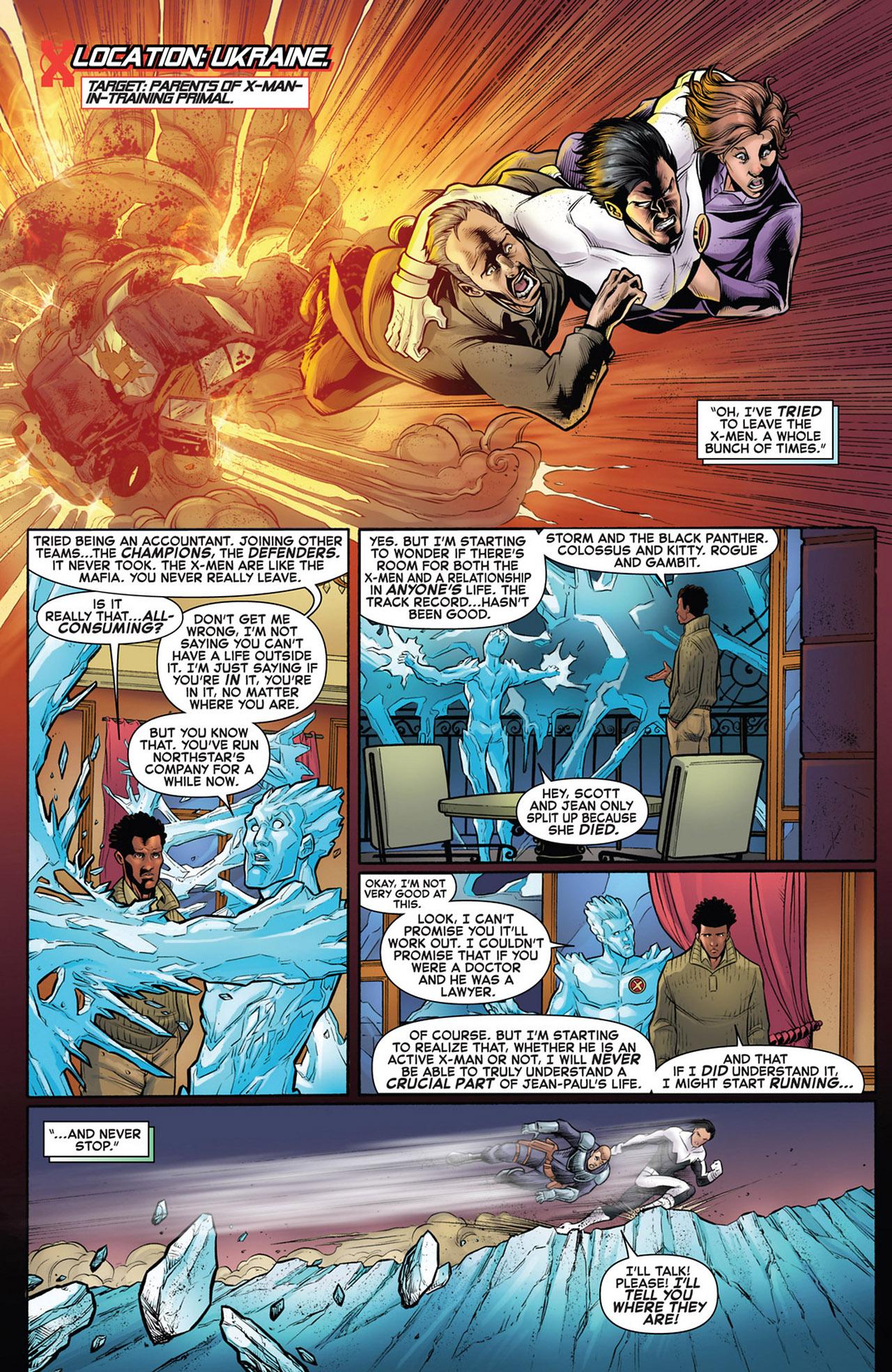 Read online Astonishing X-Men (2004) comic -  Issue # _Annual 1 - 4