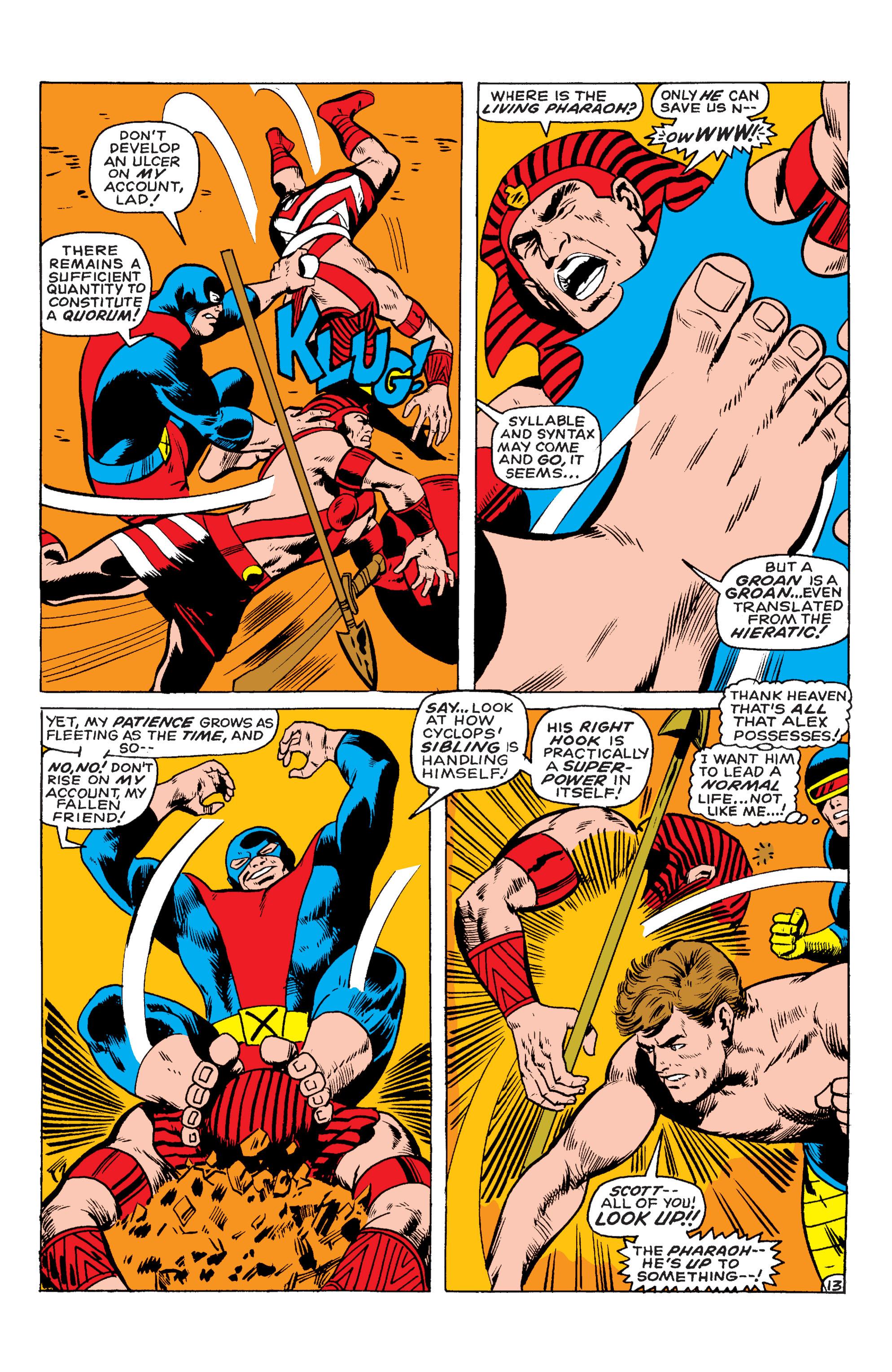 Uncanny X-Men (1963) 55 Page 13