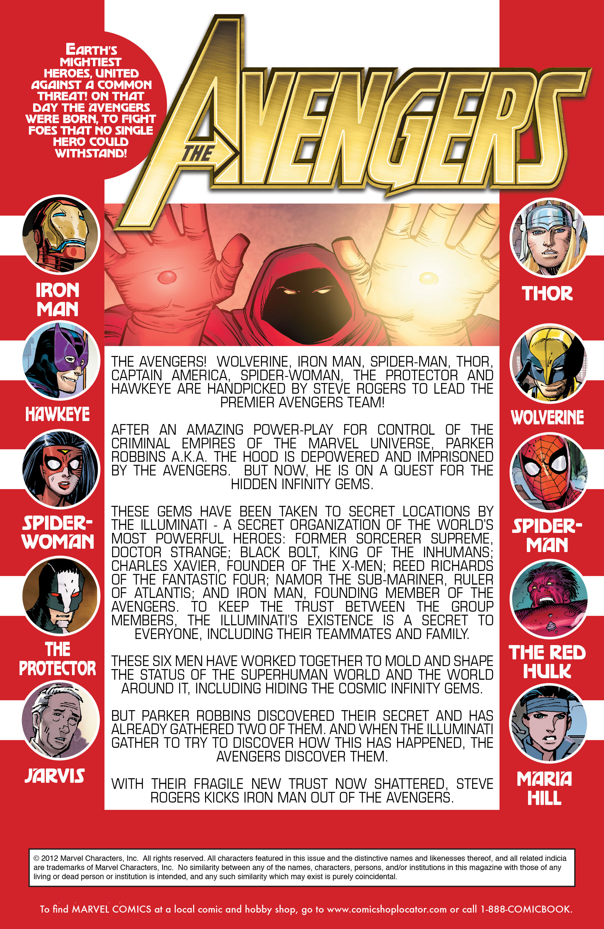 Read online Avengers (2010) comic -  Issue #10 - 2