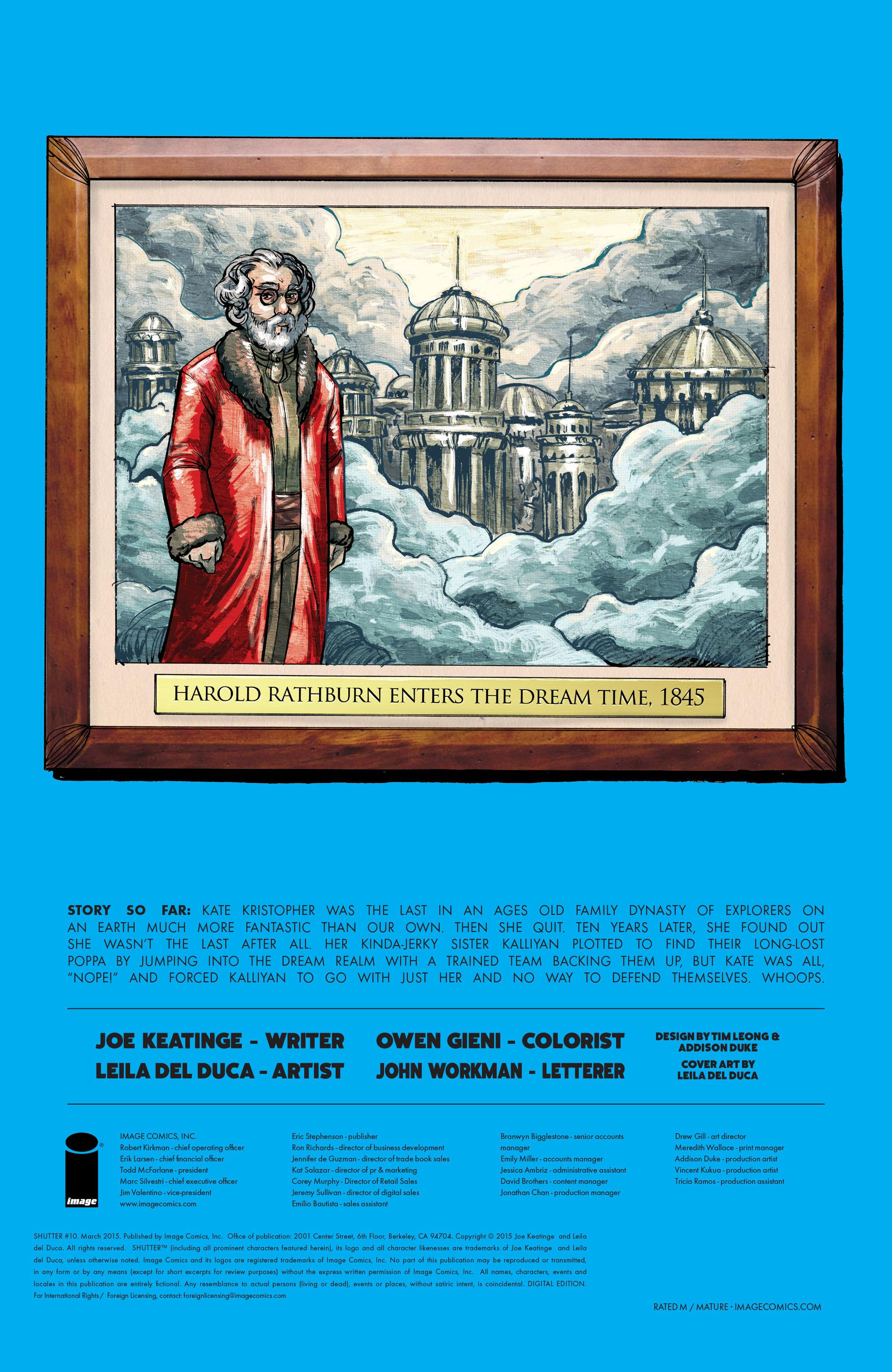 Read online Shutter comic -  Issue #10 - 30