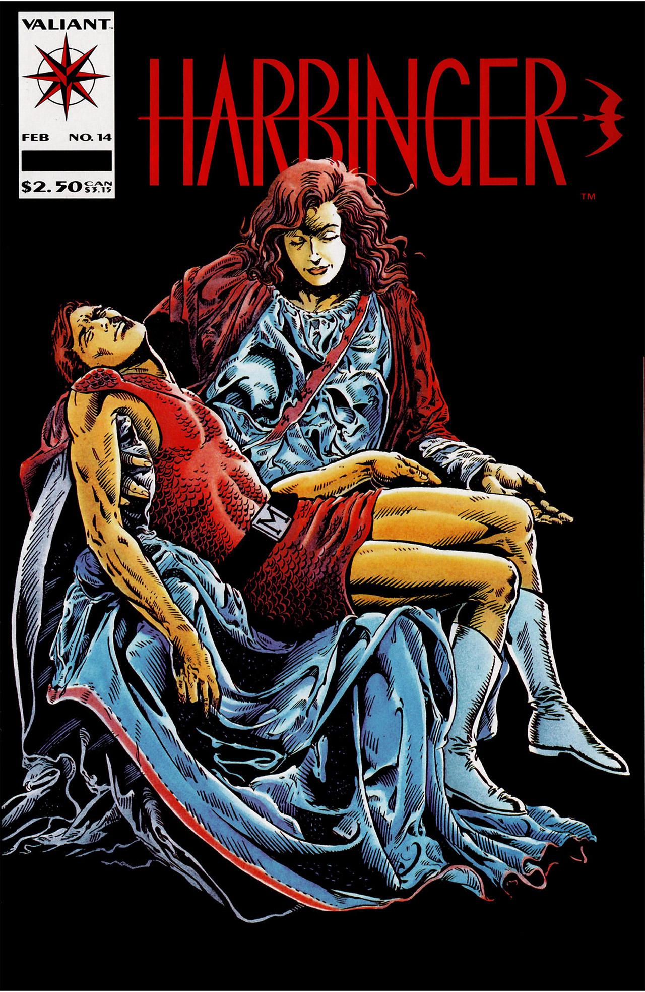 Read online Harbinger (1992) comic -  Issue #14 - 1