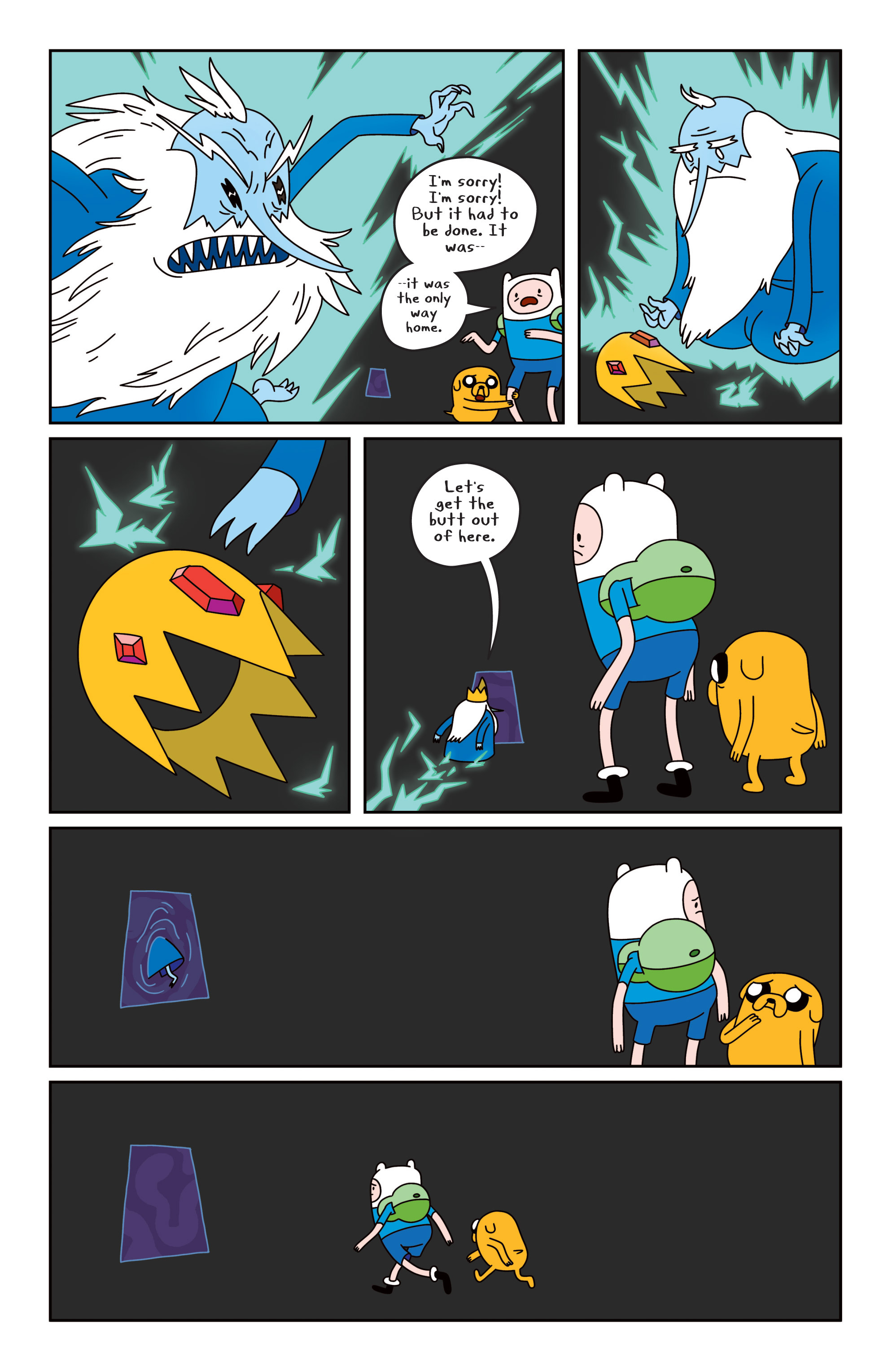 Read online Adventure Time comic -  Issue #19 - 17