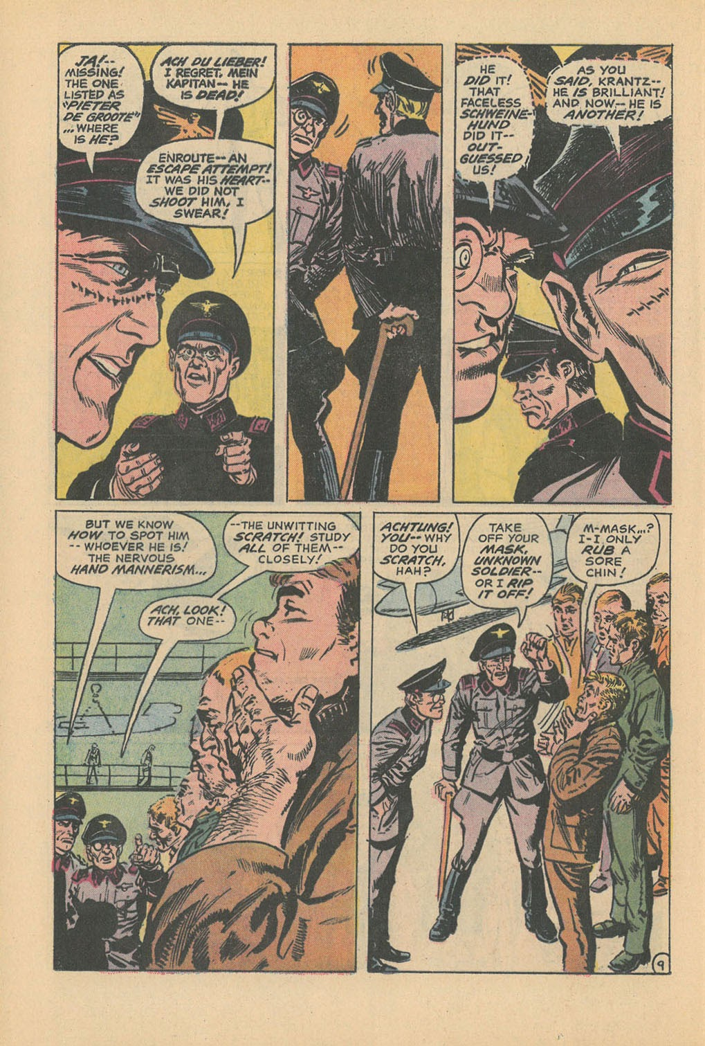 Read online Star Spangled War Stories (1952) comic -  Issue #177 - 12