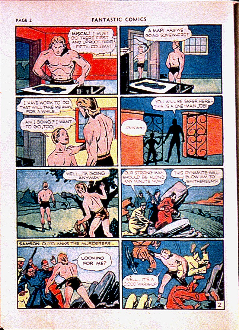 Fantastic Comics issue 13 - Page 5