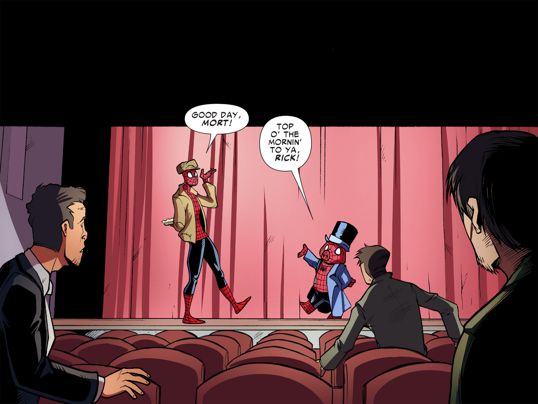 Read online Ultimate Spider-Man (Infinite Comics) (2016) comic -  Issue #10 - 45