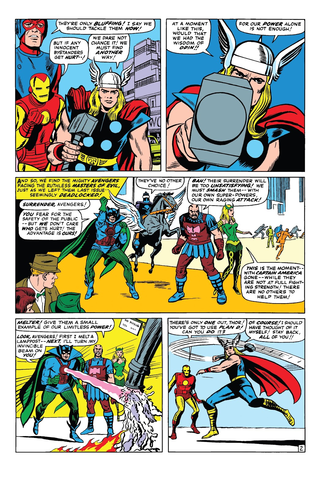 Read online Marvel Tales: Avengers comic -  Issue # Full - 7