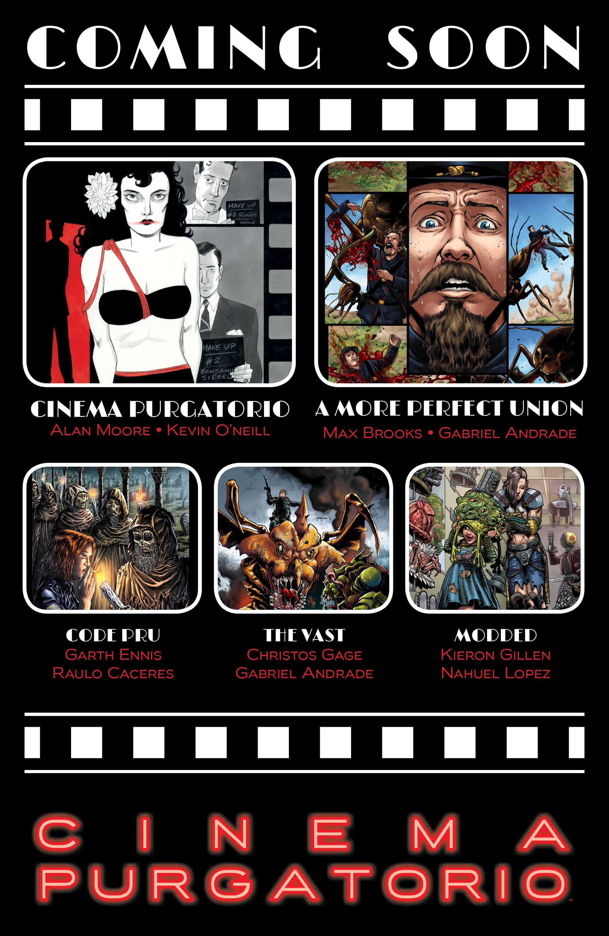 Read online Alan Moore's Cinema Purgatorio comic -  Issue #10 - 33