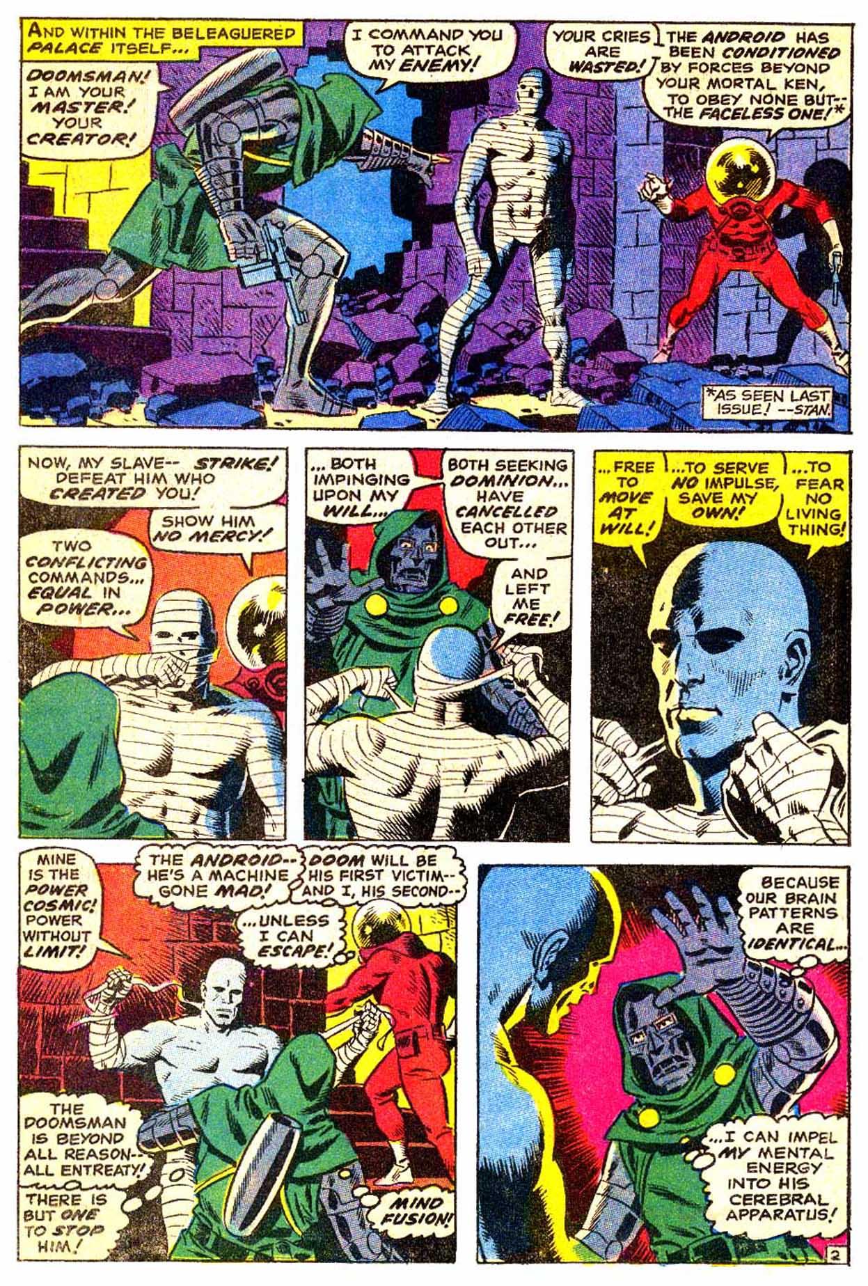 Read online Astonishing Tales (1970) comic -  Issue #3 - 3