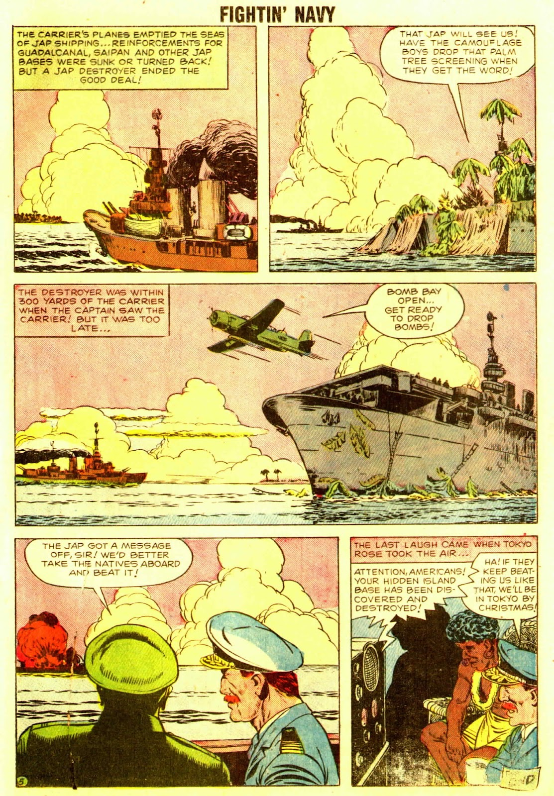 Read online Fightin' Navy comic -  Issue #83 - 87
