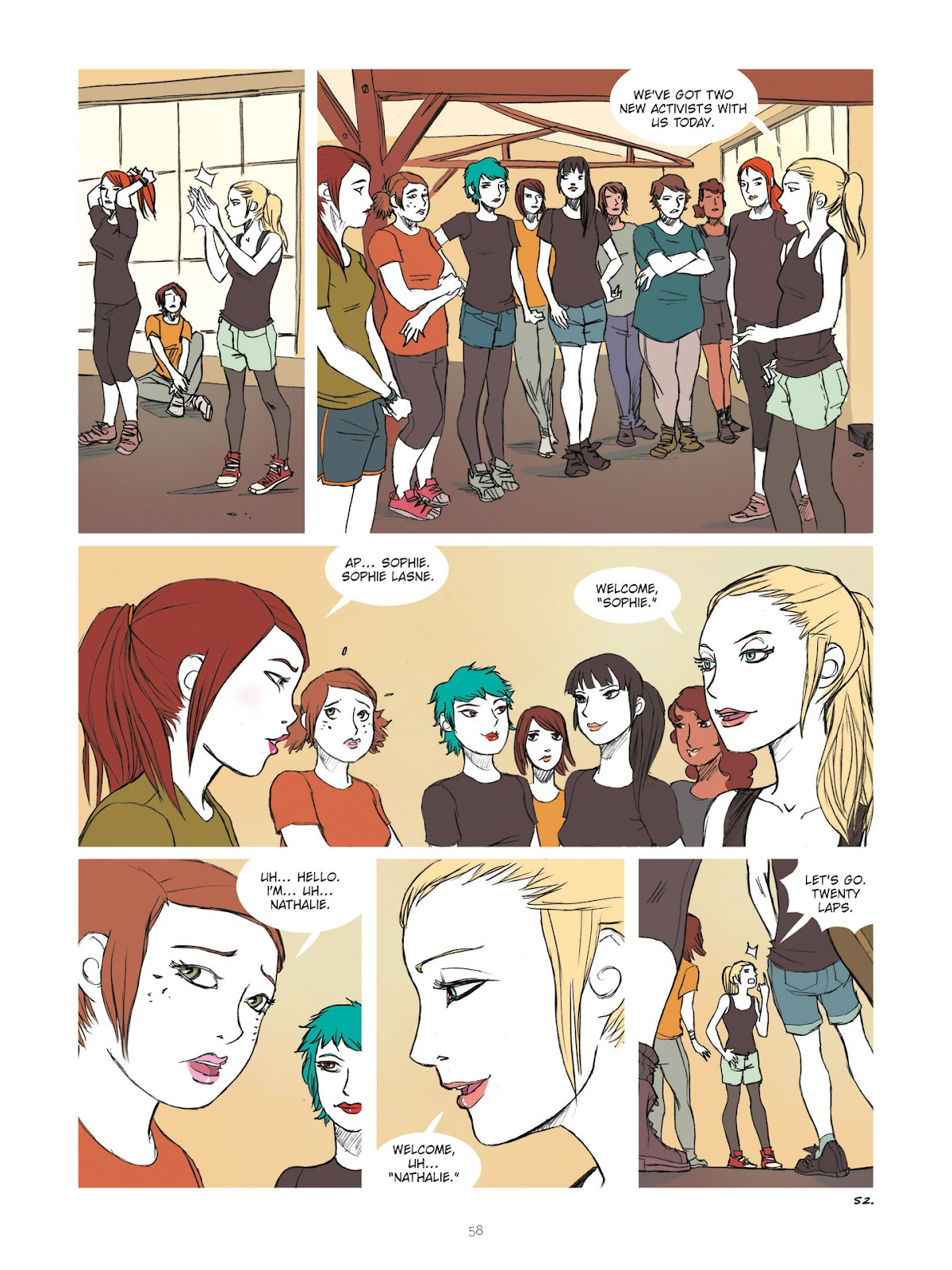 Read online Diary of A Femen comic -  Issue # TPB - 60