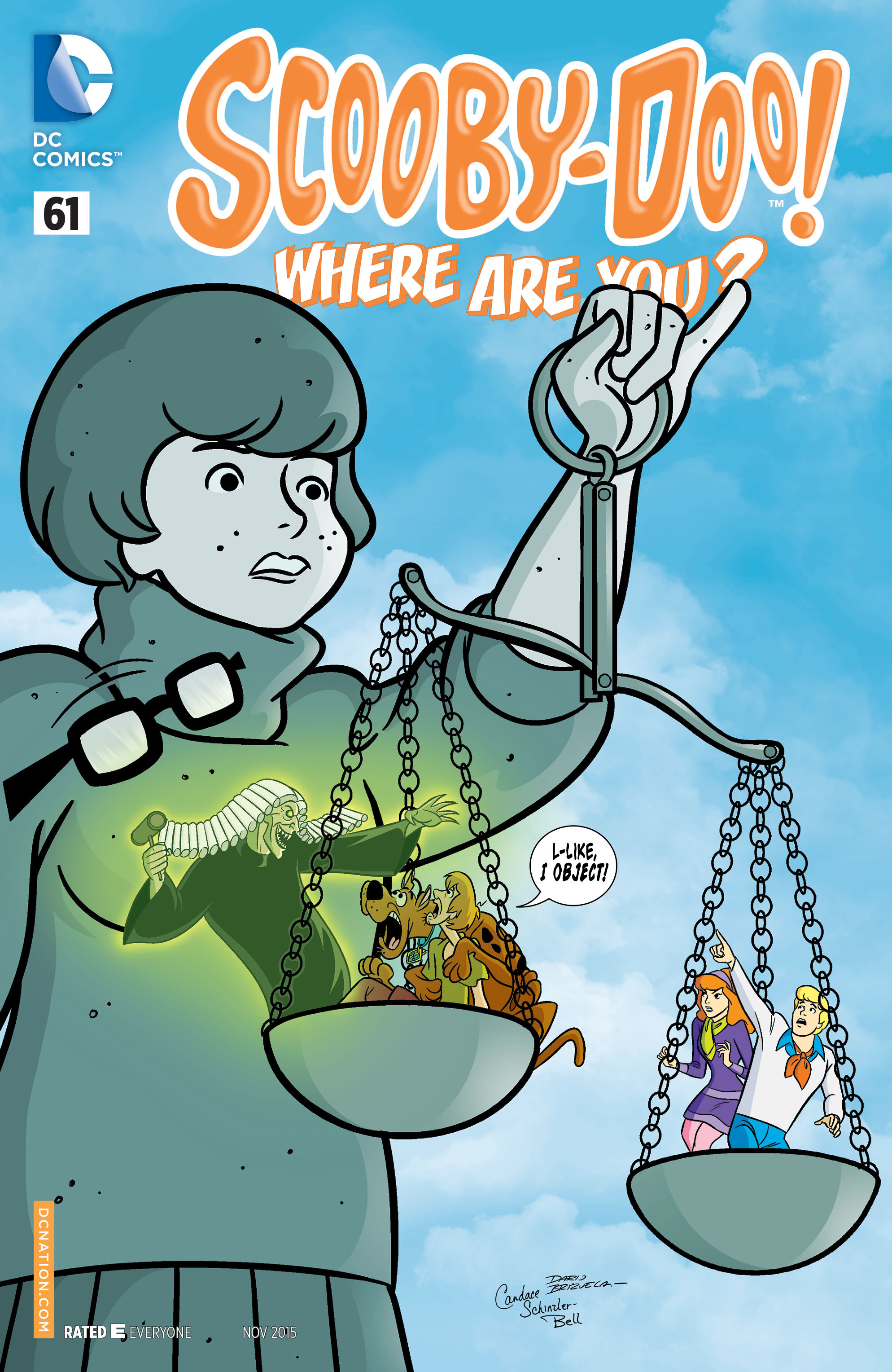 Read online Scooby-Doo: Where Are You? comic -  Issue #61 - 1