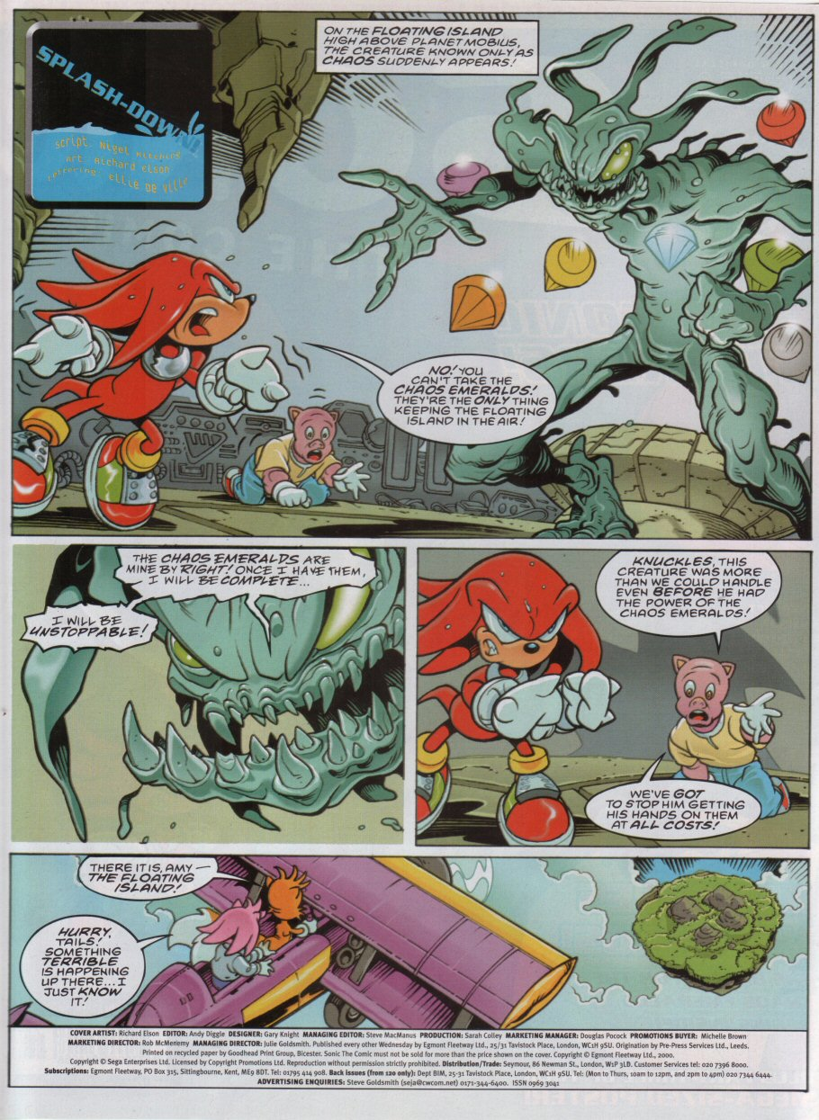 Read online Sonic the Comic comic -  Issue #178 - 2