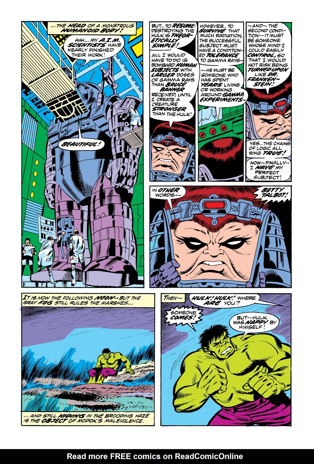 Read online Marvel Masterworks: The Incredible Hulk comic -  Issue # TPB 9 (Part 3) - 25