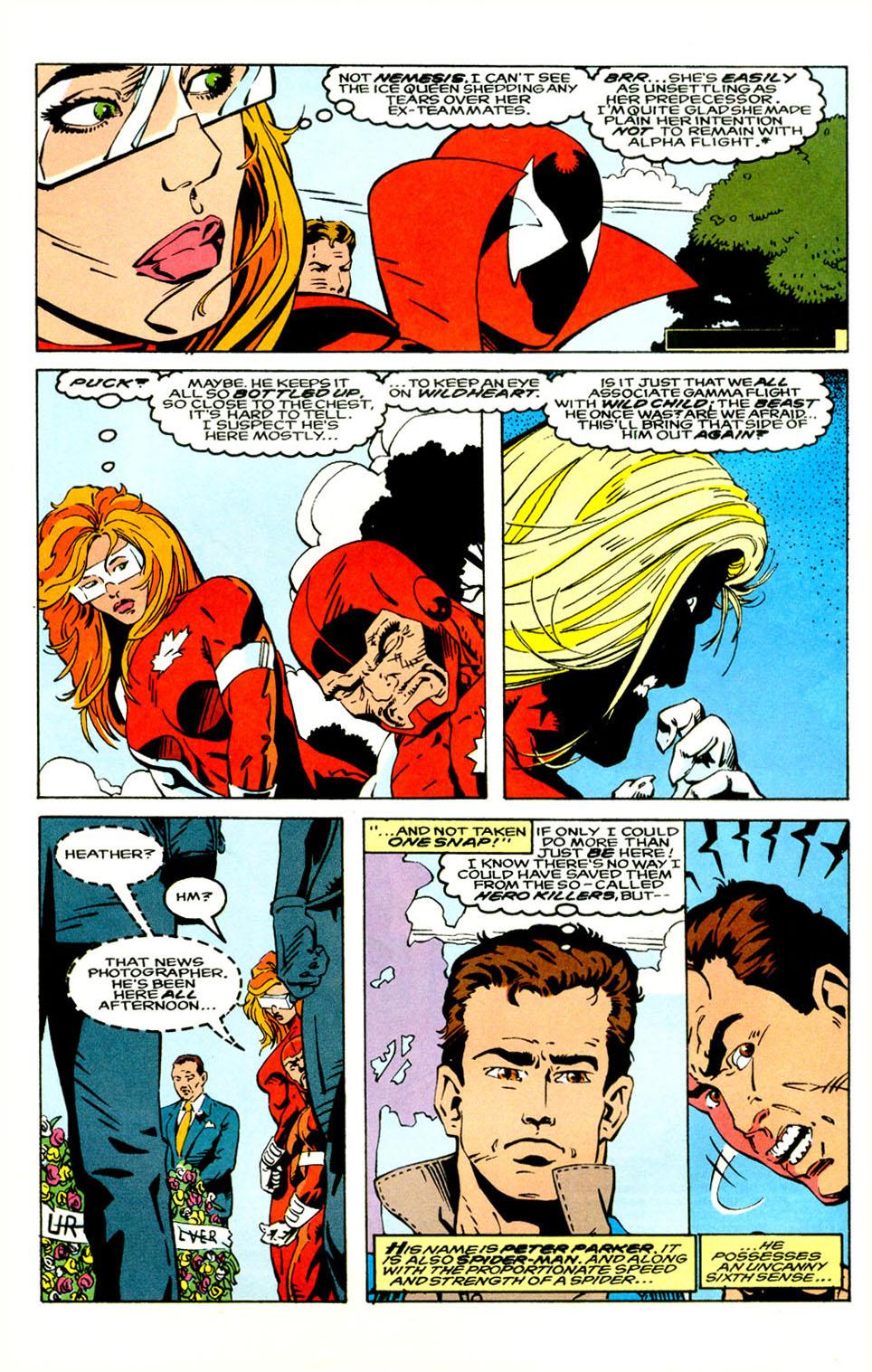 Read online Alpha Flight (1983) comic -  Issue #121 - 5
