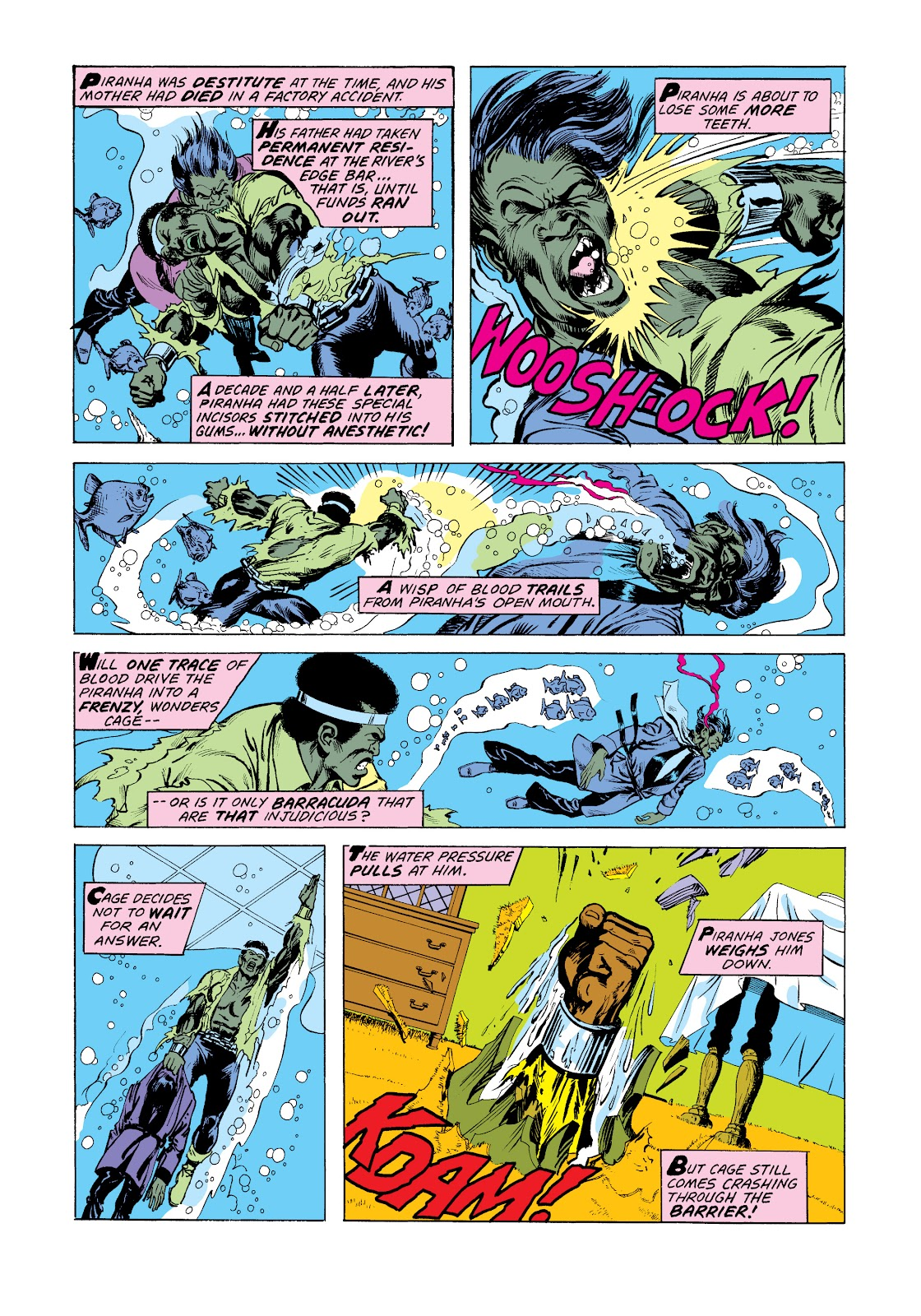 Read online Marvel Masterworks: Luke Cage, Power Man comic -  Issue # TPB 2 (Part 3) - 93