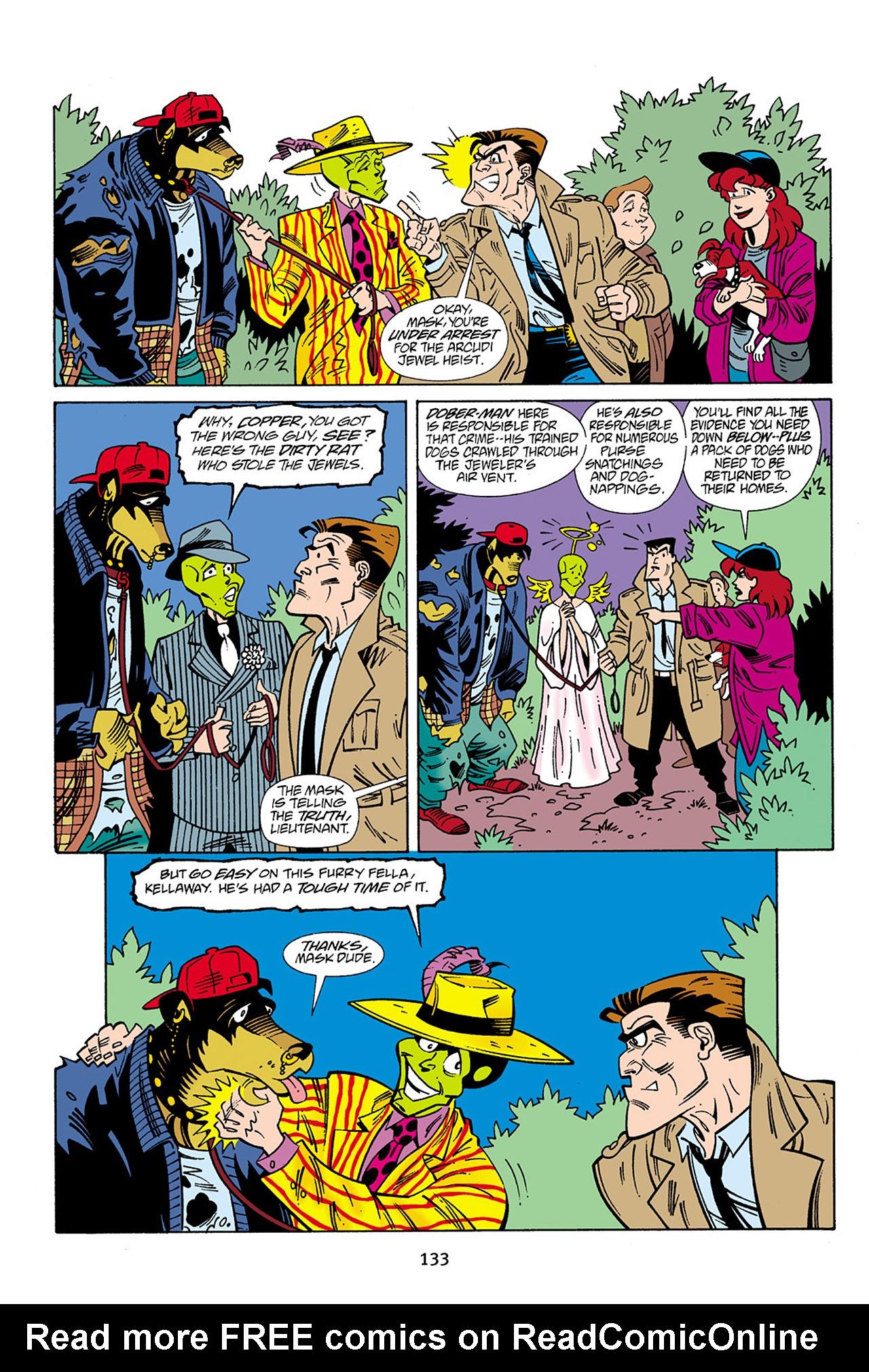 Read online Adventures Of The Mask Omnibus comic -  Issue #Adventures Of The Mask Omnibus Full - 133