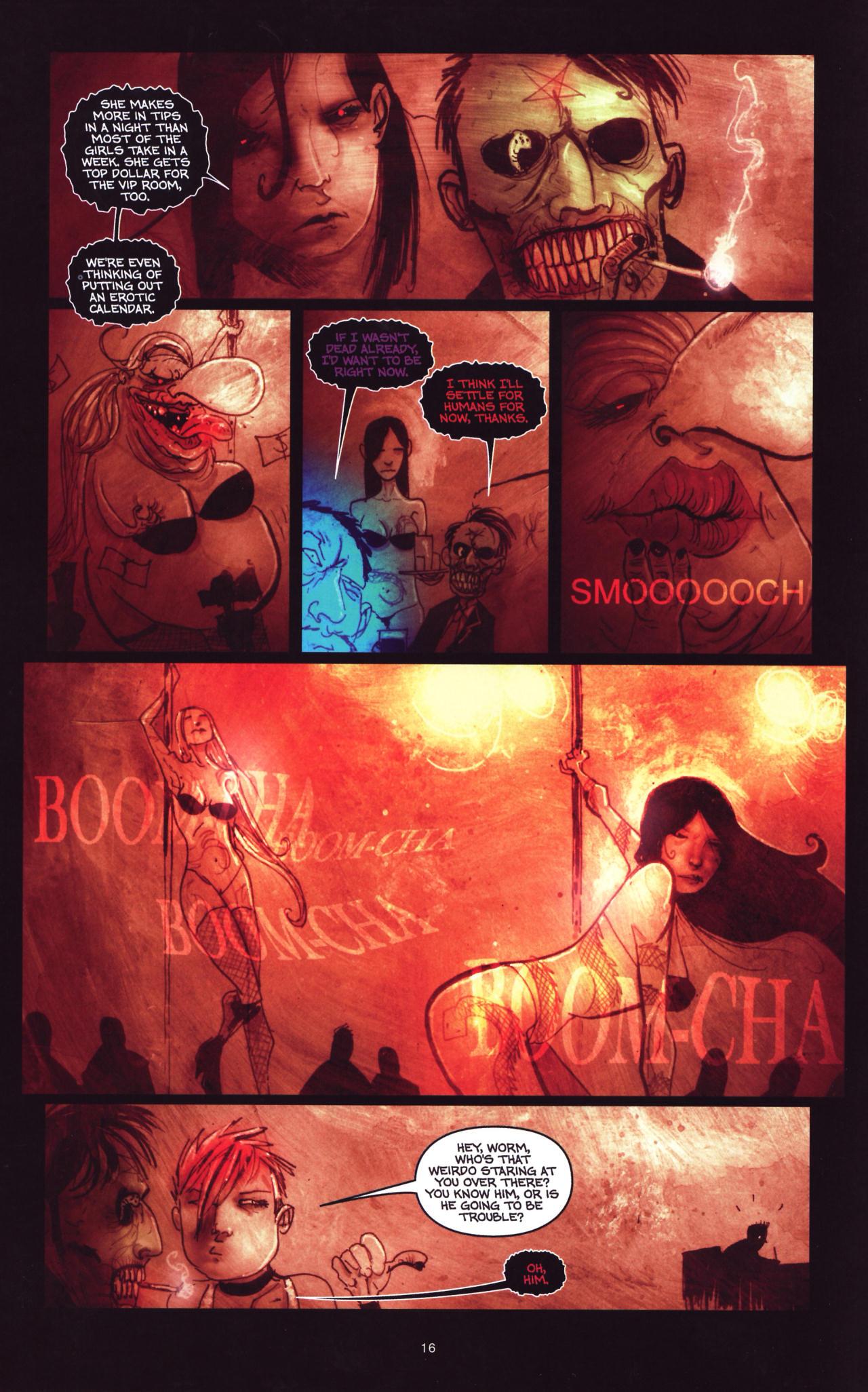 Read online Wormwood: Gentleman Corpse comic -  Issue #8 - 17