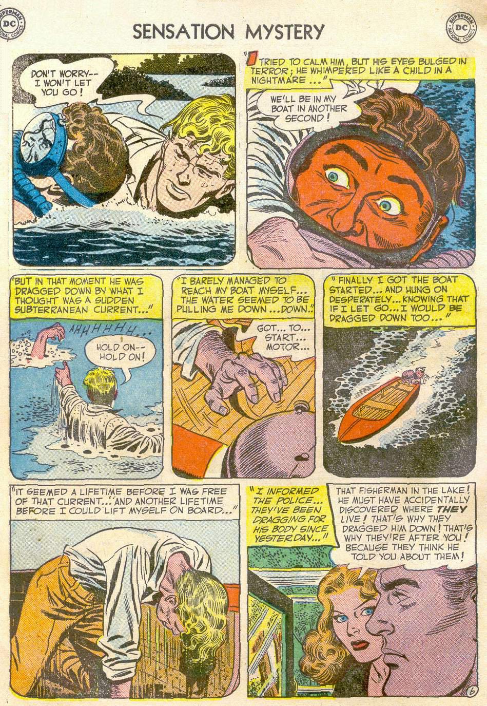 Read online Sensation (Mystery) Comics comic -  Issue #110 - 30