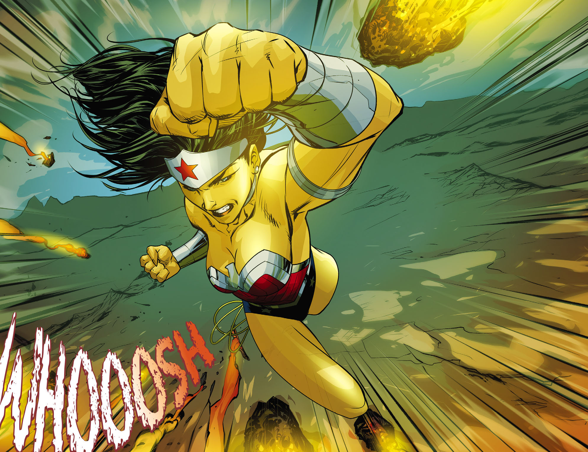 Read online Sensation Comics Featuring Wonder Woman comic -  Issue #25 - 3