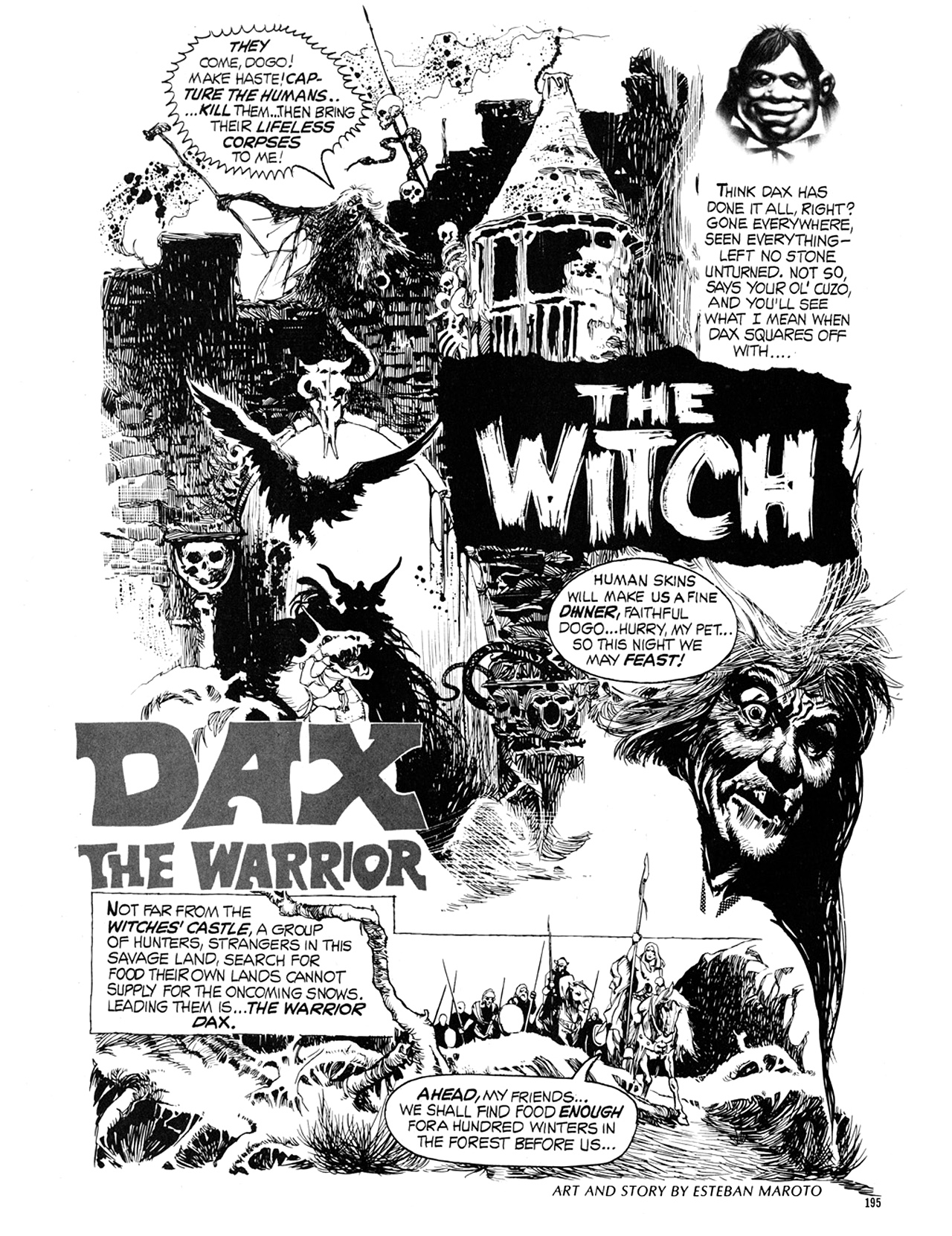 Read online Eerie Archives comic -  Issue # TPB 9 - 196