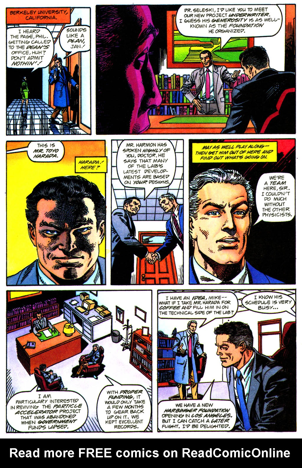 Read online Solar, Man of the Atom comic -  Issue #41 - 9