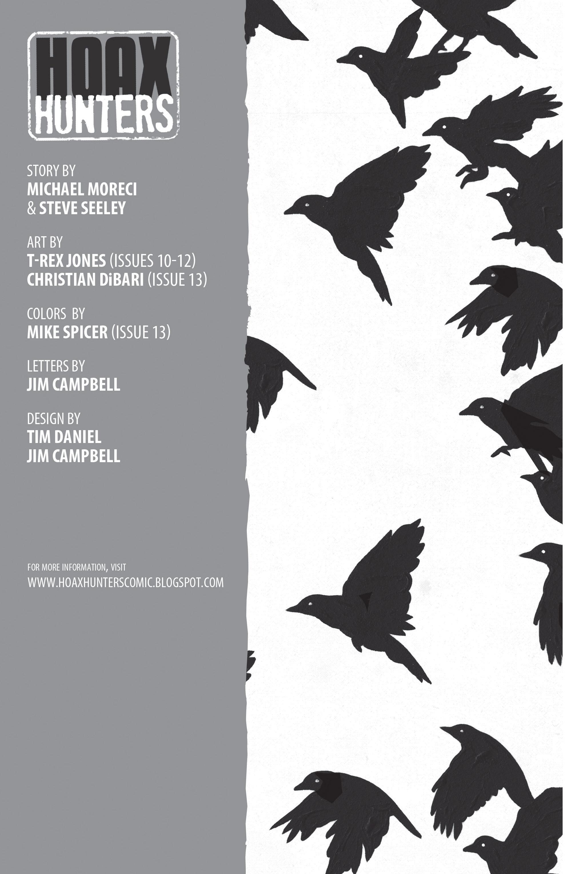 Read online Hoax Hunters (2012) comic -  Issue # TPB 3 - 2