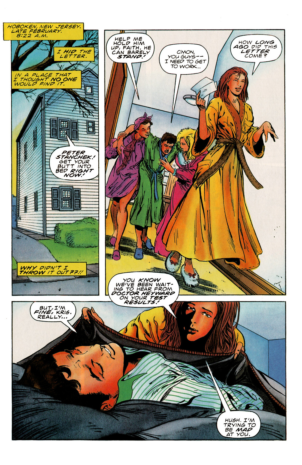 Read online Harbinger (1992) comic -  Issue #21 - 2