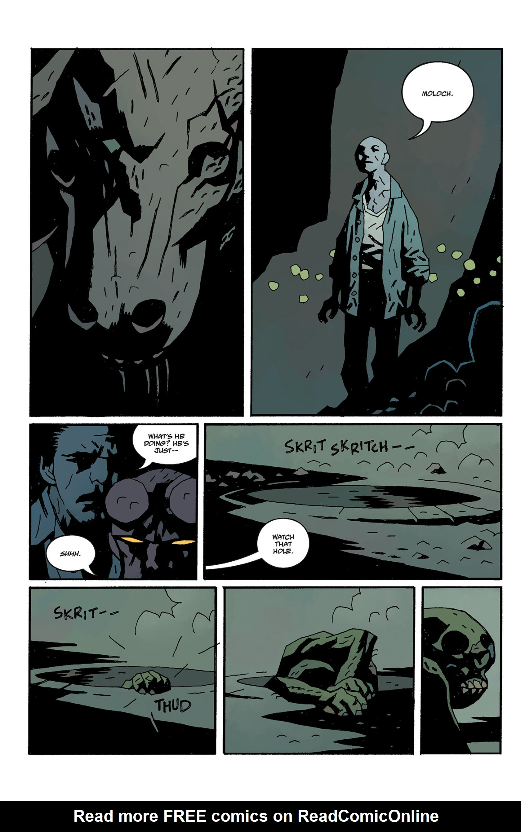 Read online Hellboy: The Crooked Man and Others comic -  Issue # TPB - 122