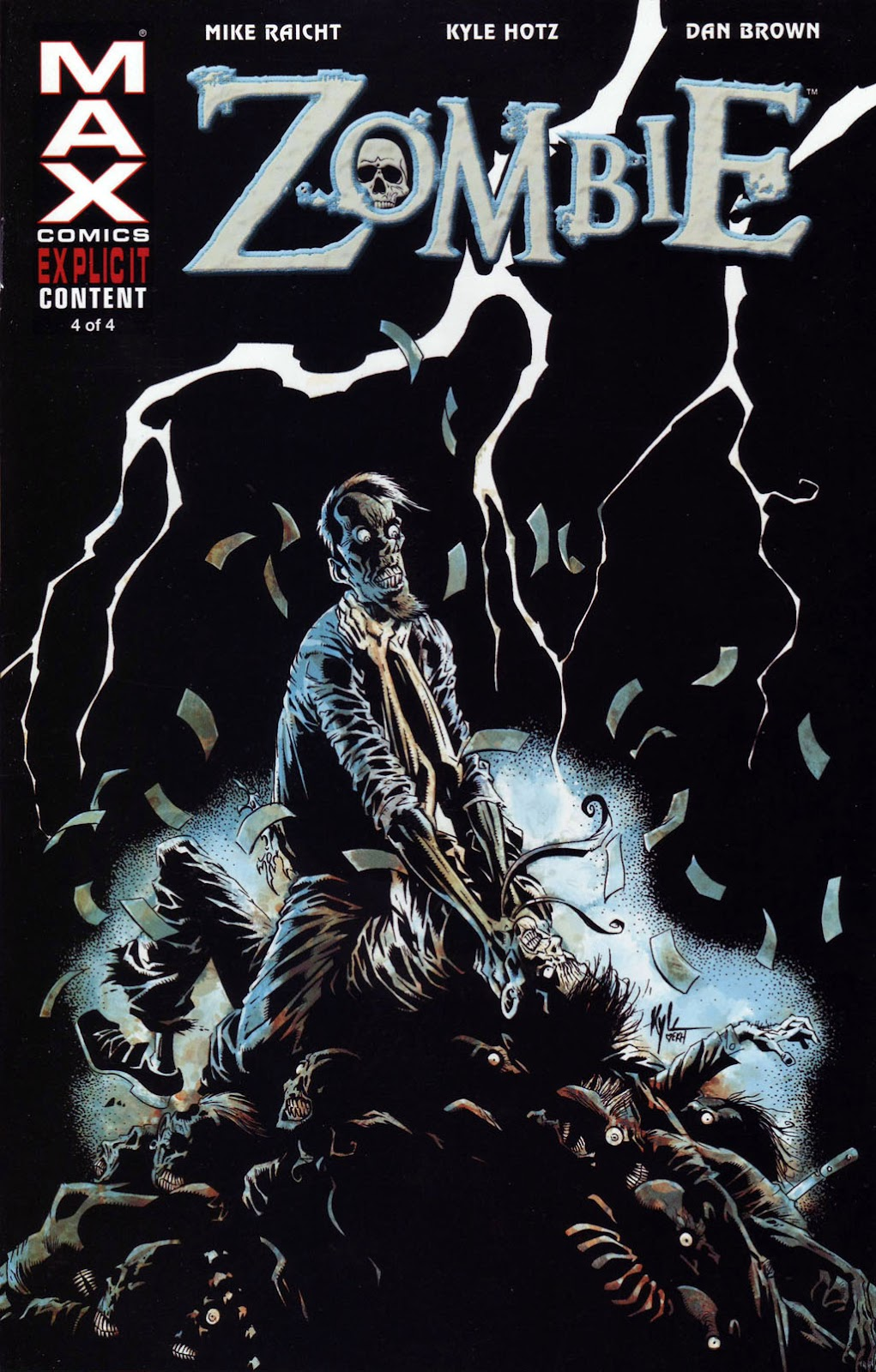 Read online Zombie (2006) comic -  Issue #4 - 1