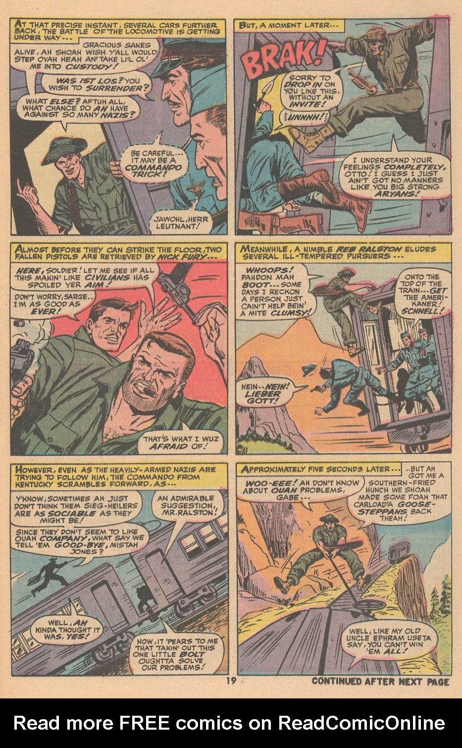 Read online Sgt. Fury comic -  Issue #105 - 21