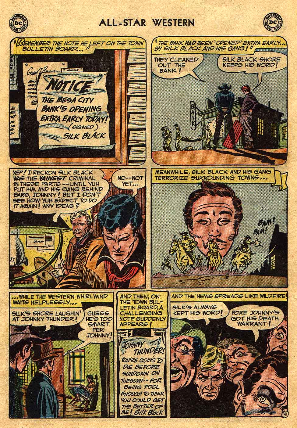 Read online All-Star Western (1951) comic -  Issue #70 - 30