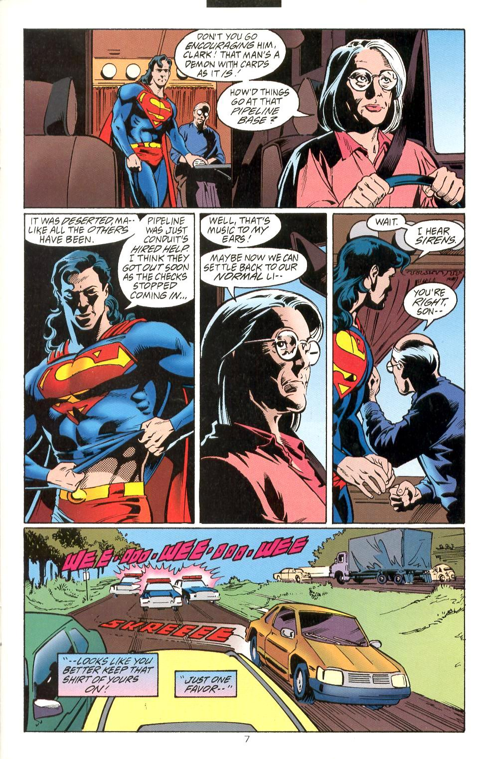 Read online Adventures of Superman (1987) comic -  Issue #525 - 8