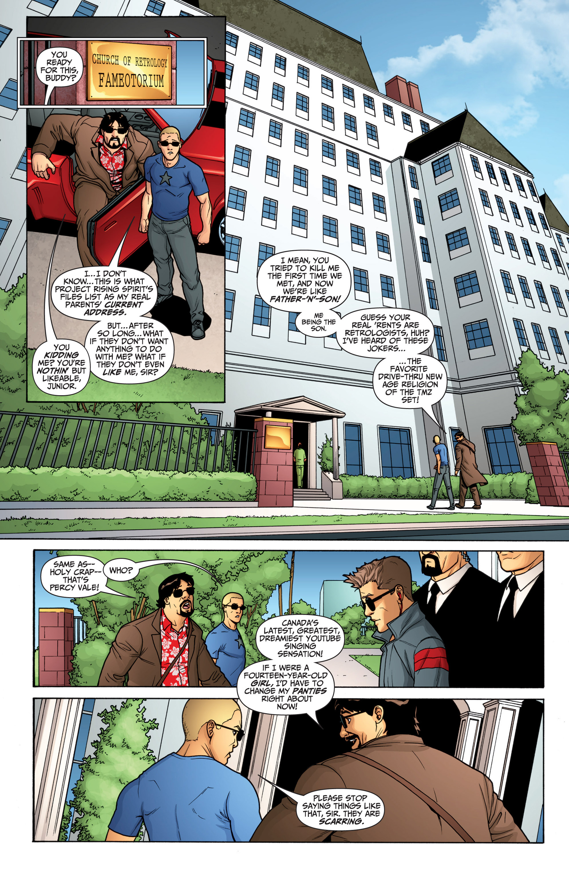 Read online Archer and Armstrong comic -  Issue #20 - 6