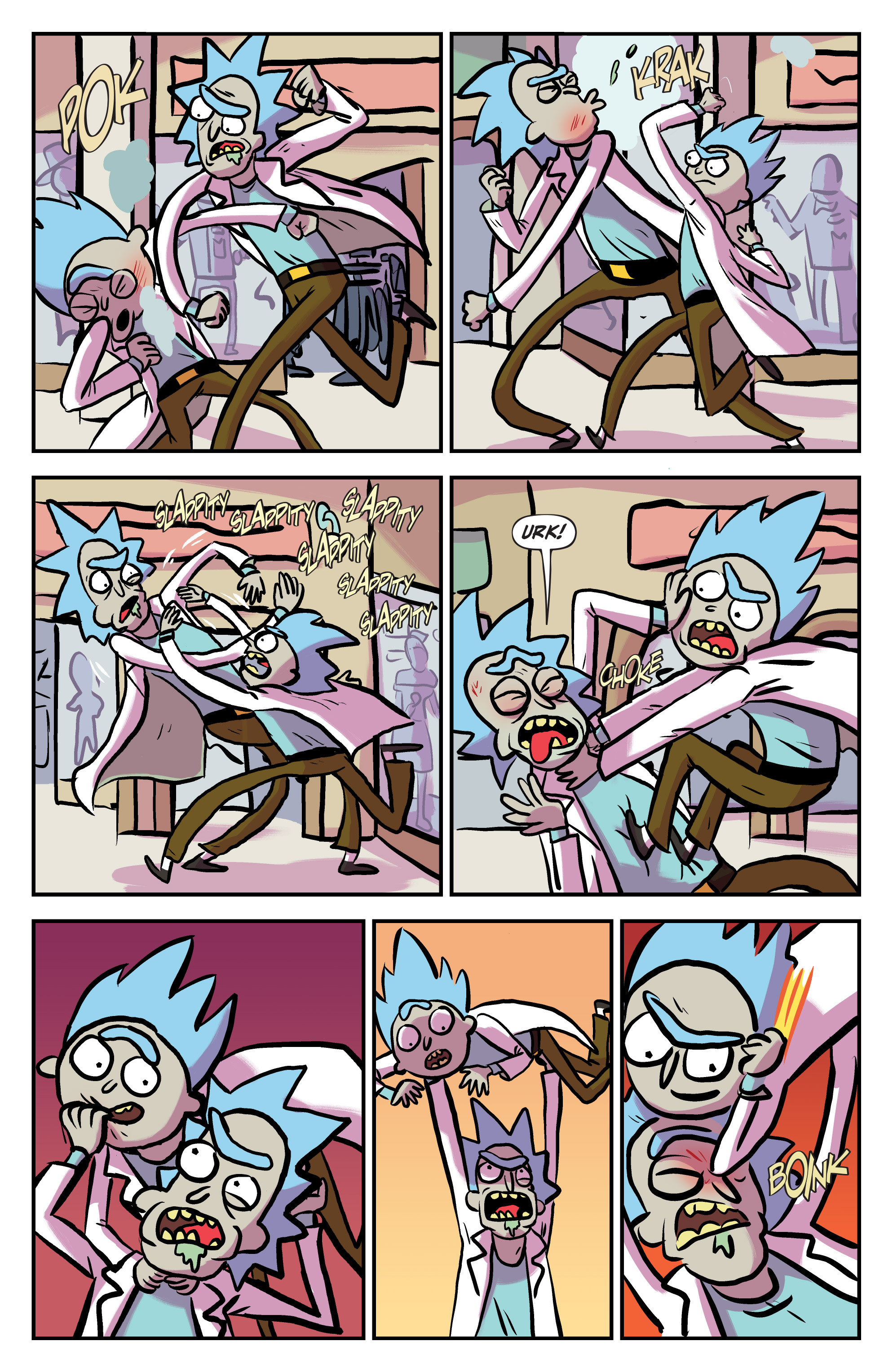 Read online Rick and Morty comic -  Issue #25 - 13