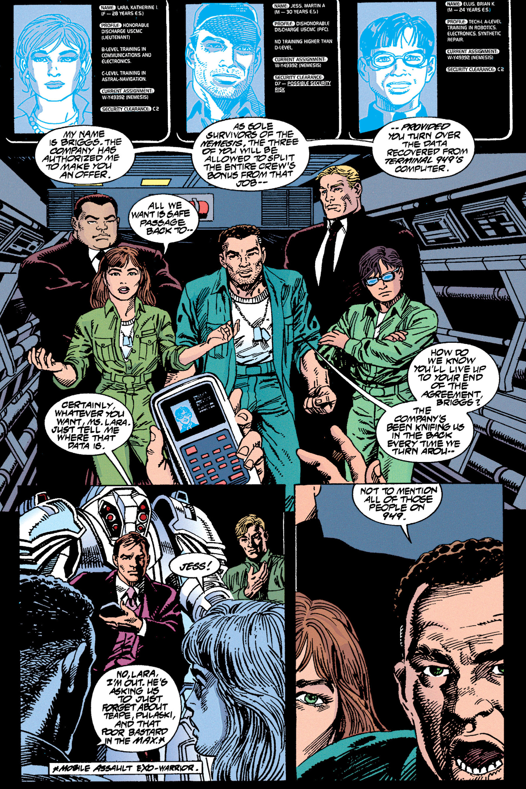 Read online Aliens vs. Predator Omnibus comic -  Issue # _TPB 1 Part 3 - 80