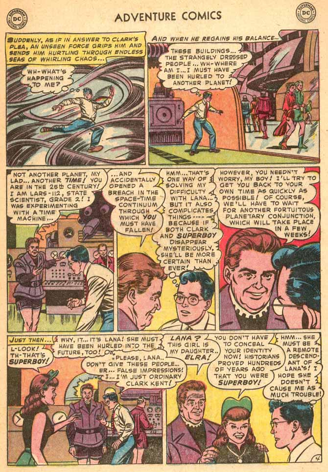 Read online Adventure Comics (1938) comic -  Issue #187 - 6