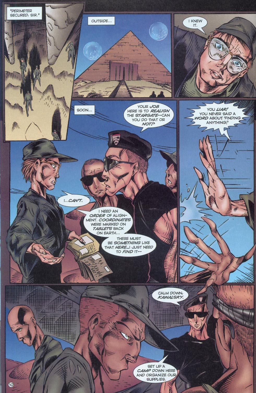 Read online Stargate comic -  Issue #1 - 12